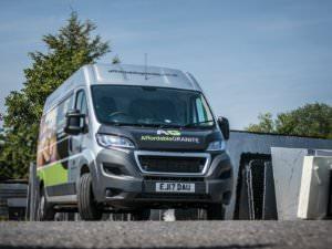 new granite worktop van