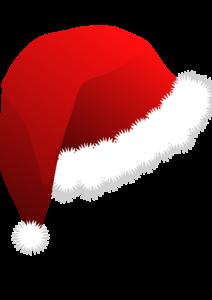 17382-illustration-of-a-red-santa-hat-left