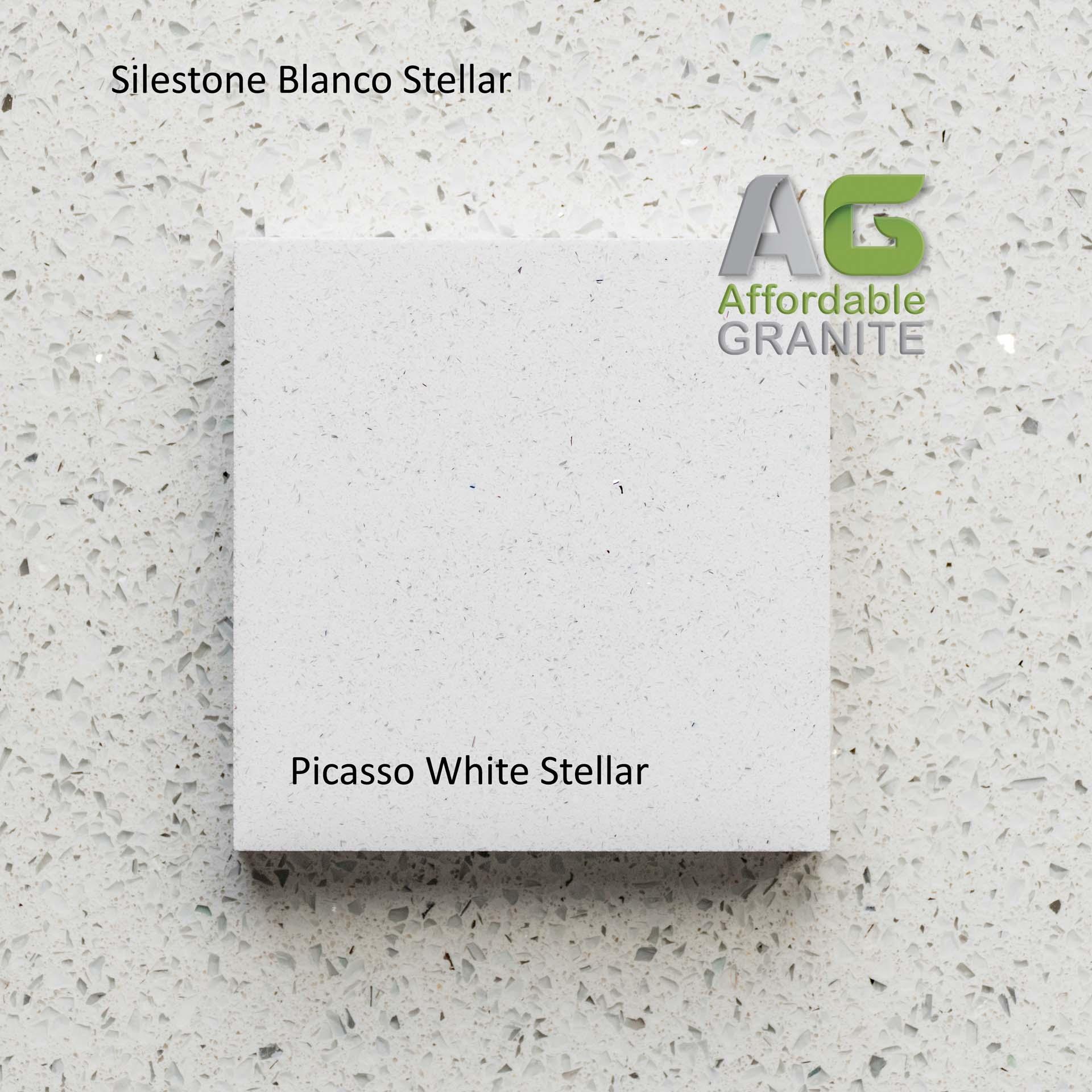 180201 Silestone Blanco Stellar Picasso White Stellar