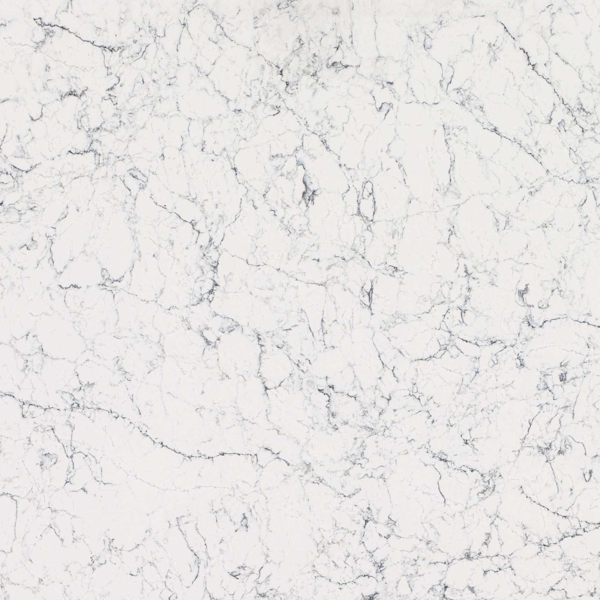 White Attica Caesarstone quartz worktops granite surrey