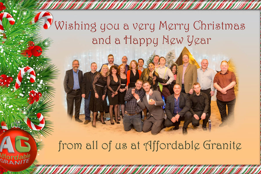 CHRISTMAS GREETINGS FROM AFFORDABLE GRANITE