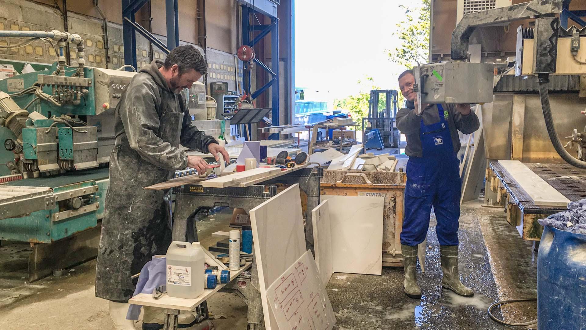 granite and quartz worktops factory surrey