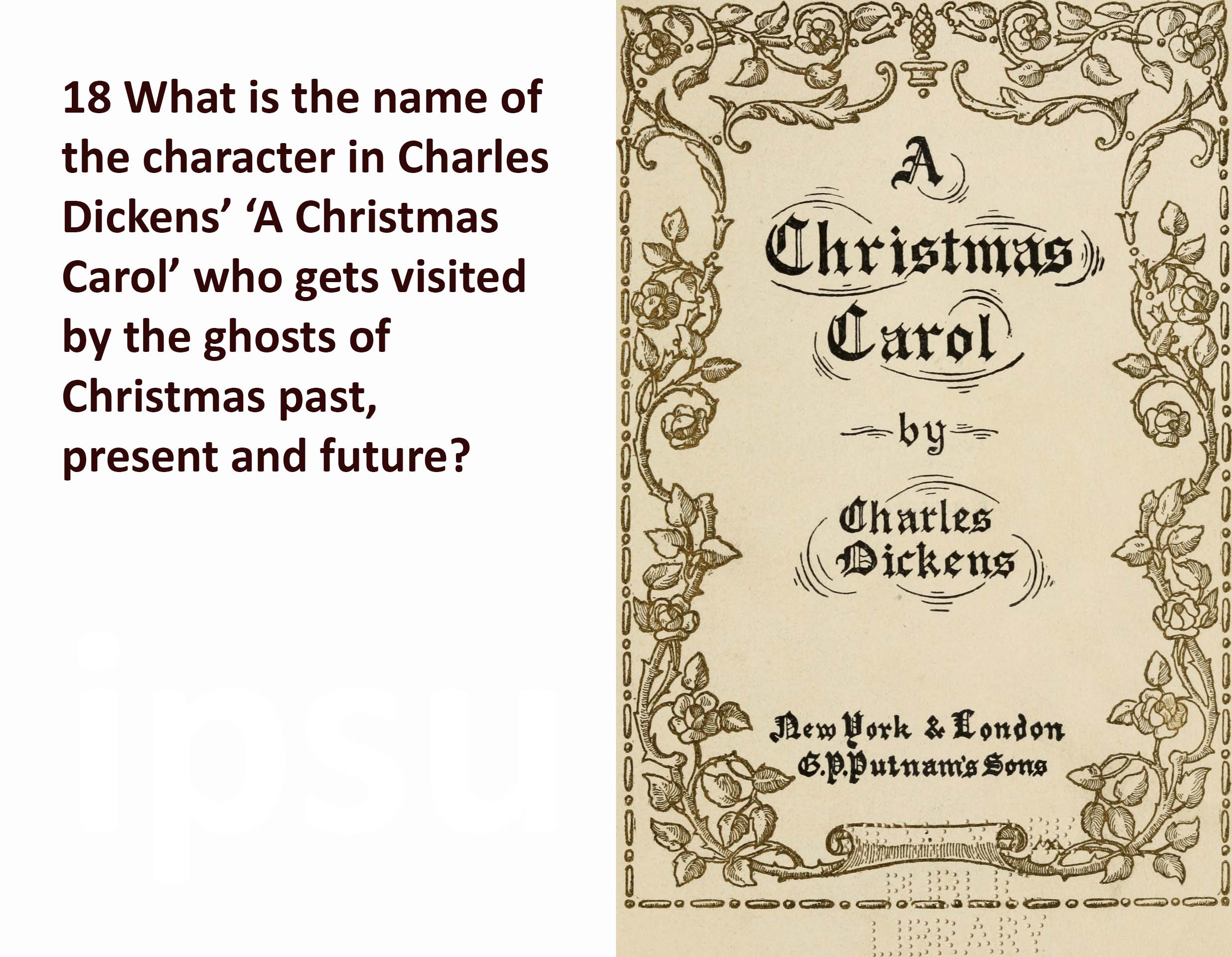 A_Christmas_carol question granite worktops is Brett really Scrooge