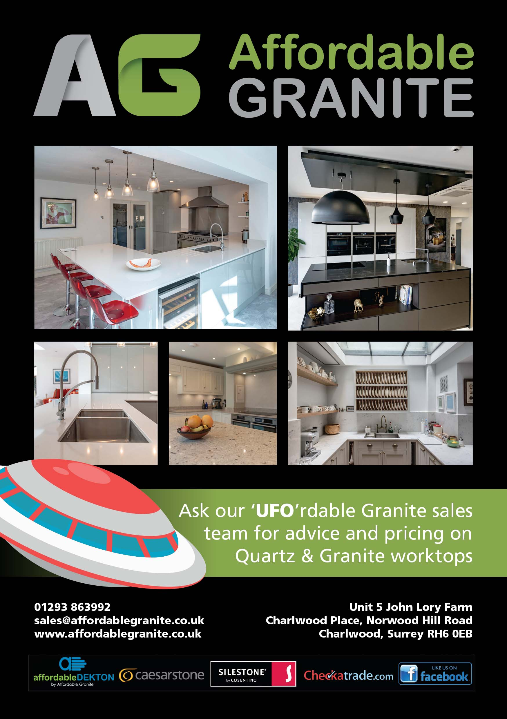 Affordable granite godalming town show round table sponsors