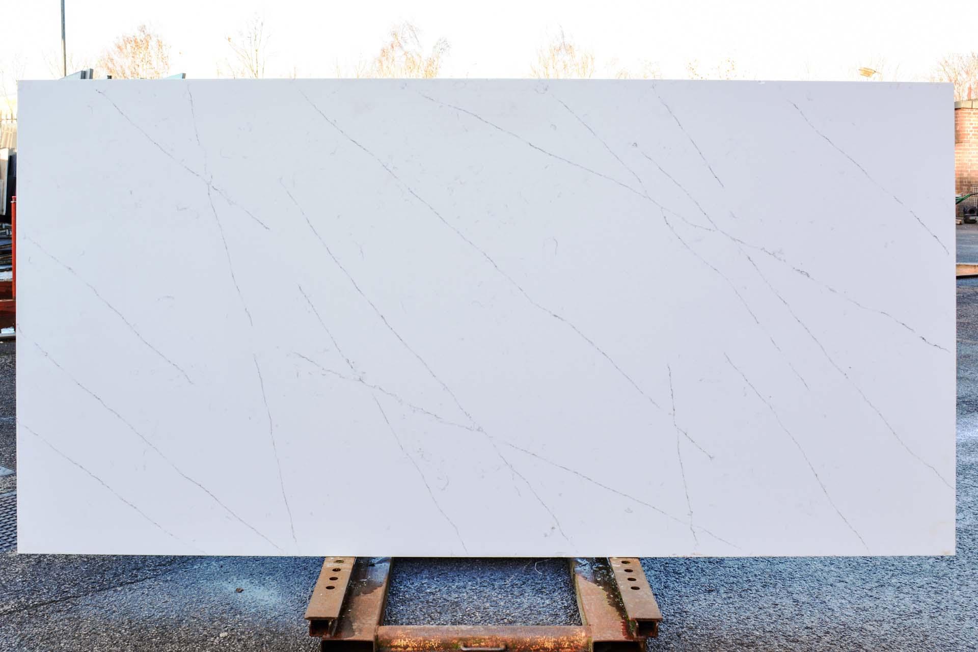 Arenastone Calacatta Delicato quartz worktops