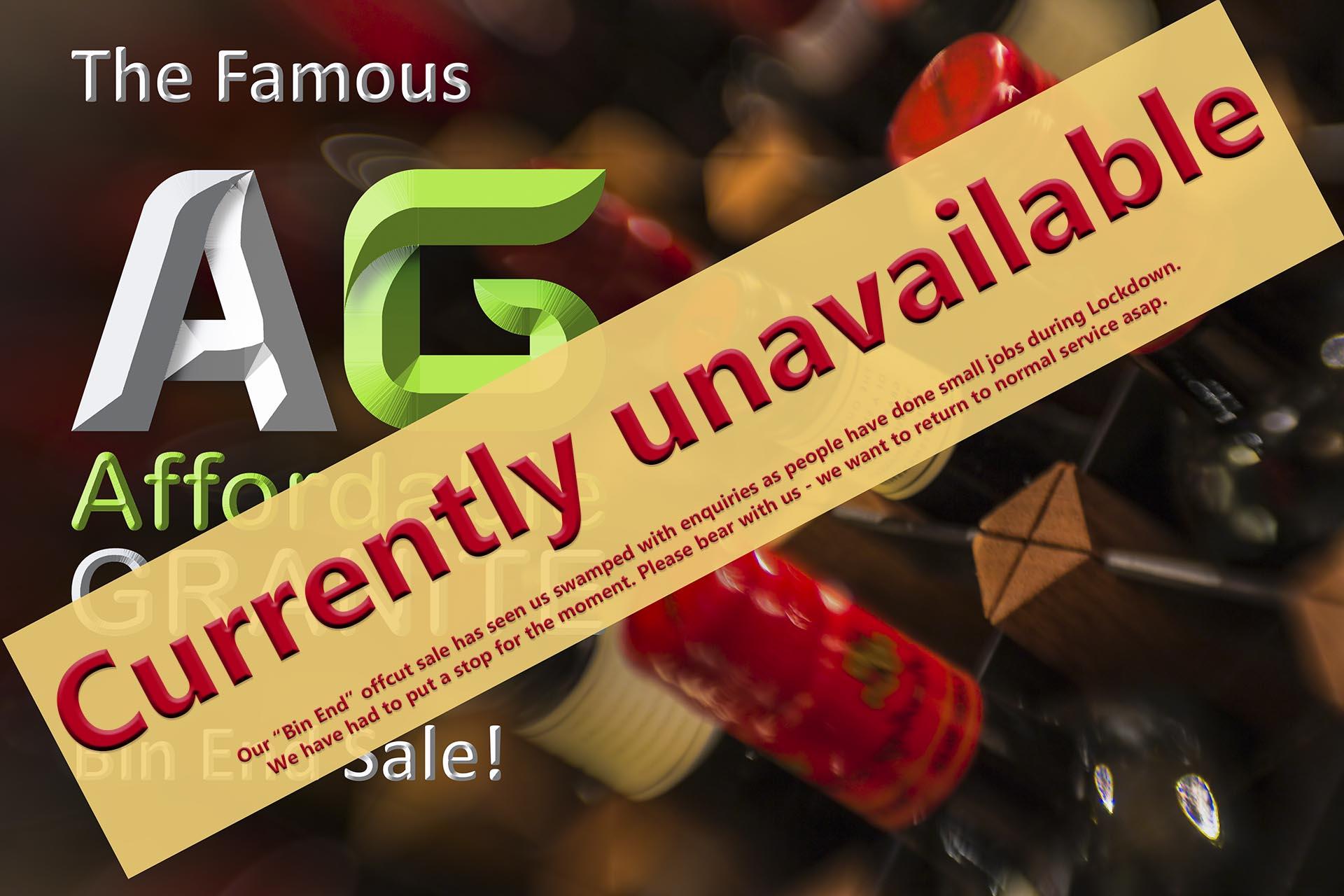 no offcut availability