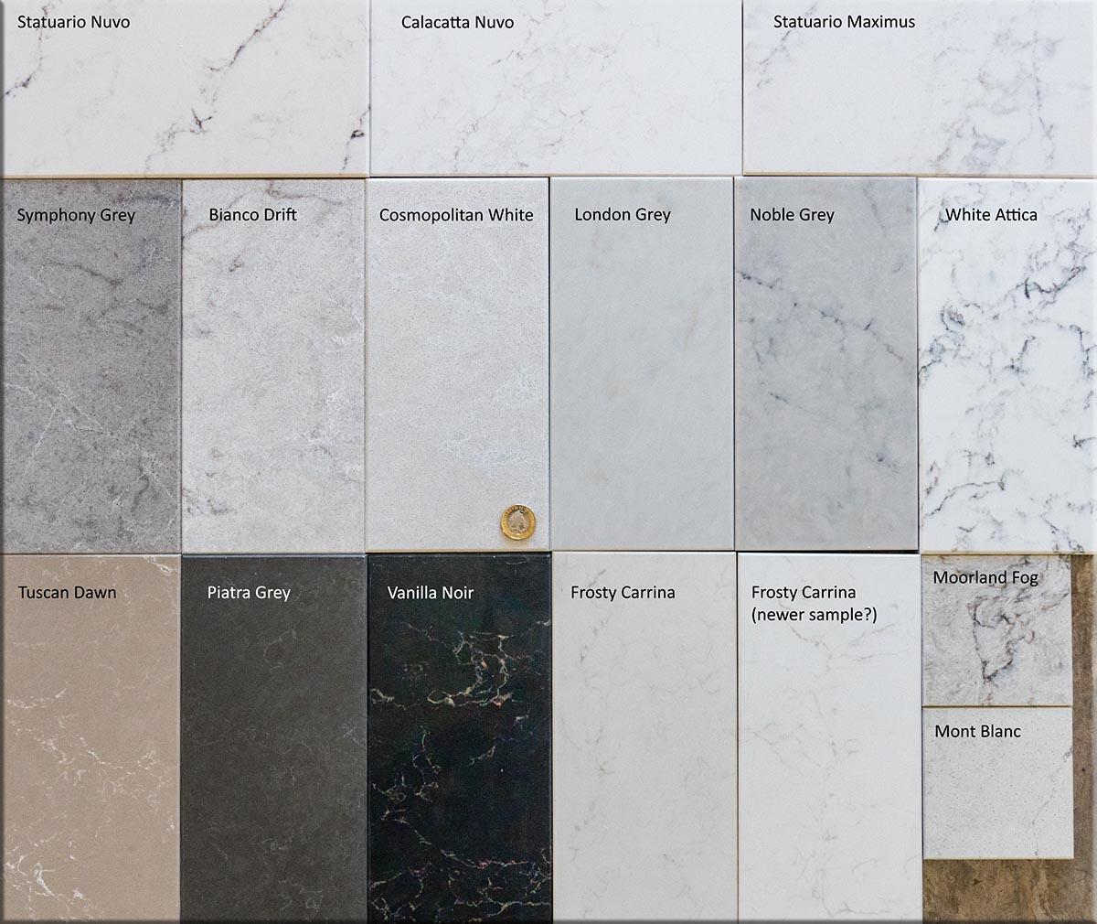 Caesarstone Marbled Quartz Groups 4 And 5a Affordable Granite Surrey Ltd
