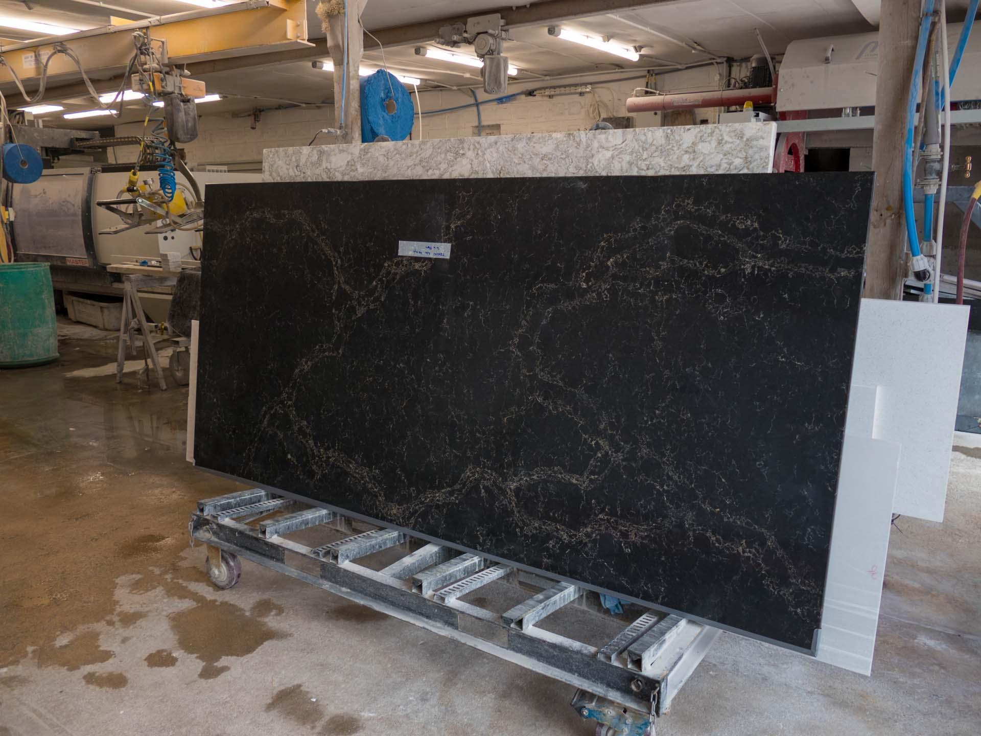 Caesarstone Vanilla Noir quartz worktops special offer 124920