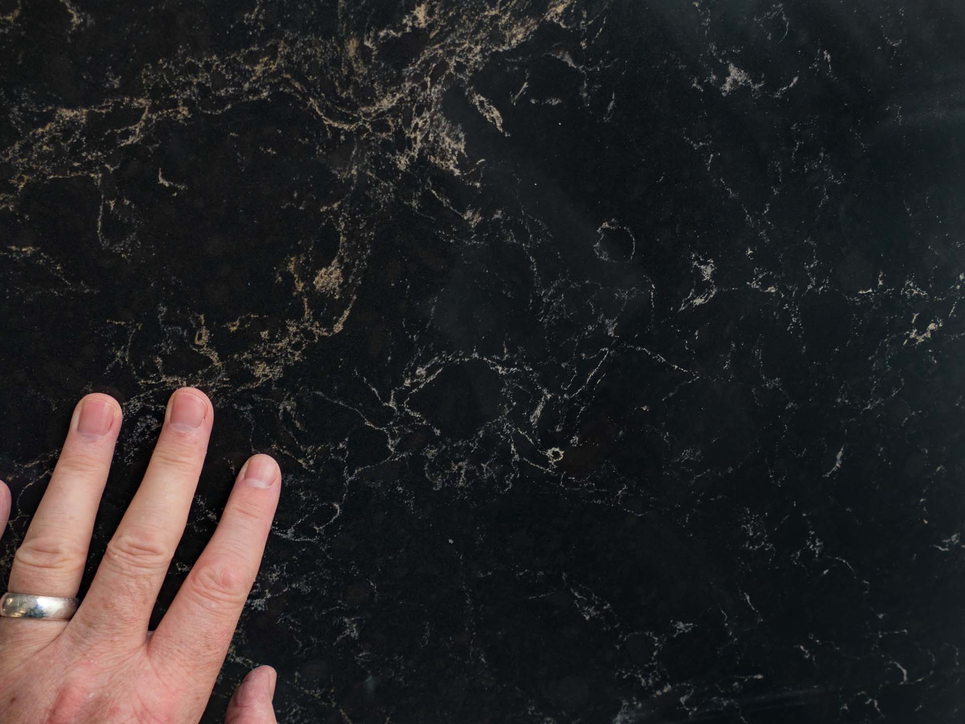 Caesarstone Vanilla Noir quartz worktops special offer 124950