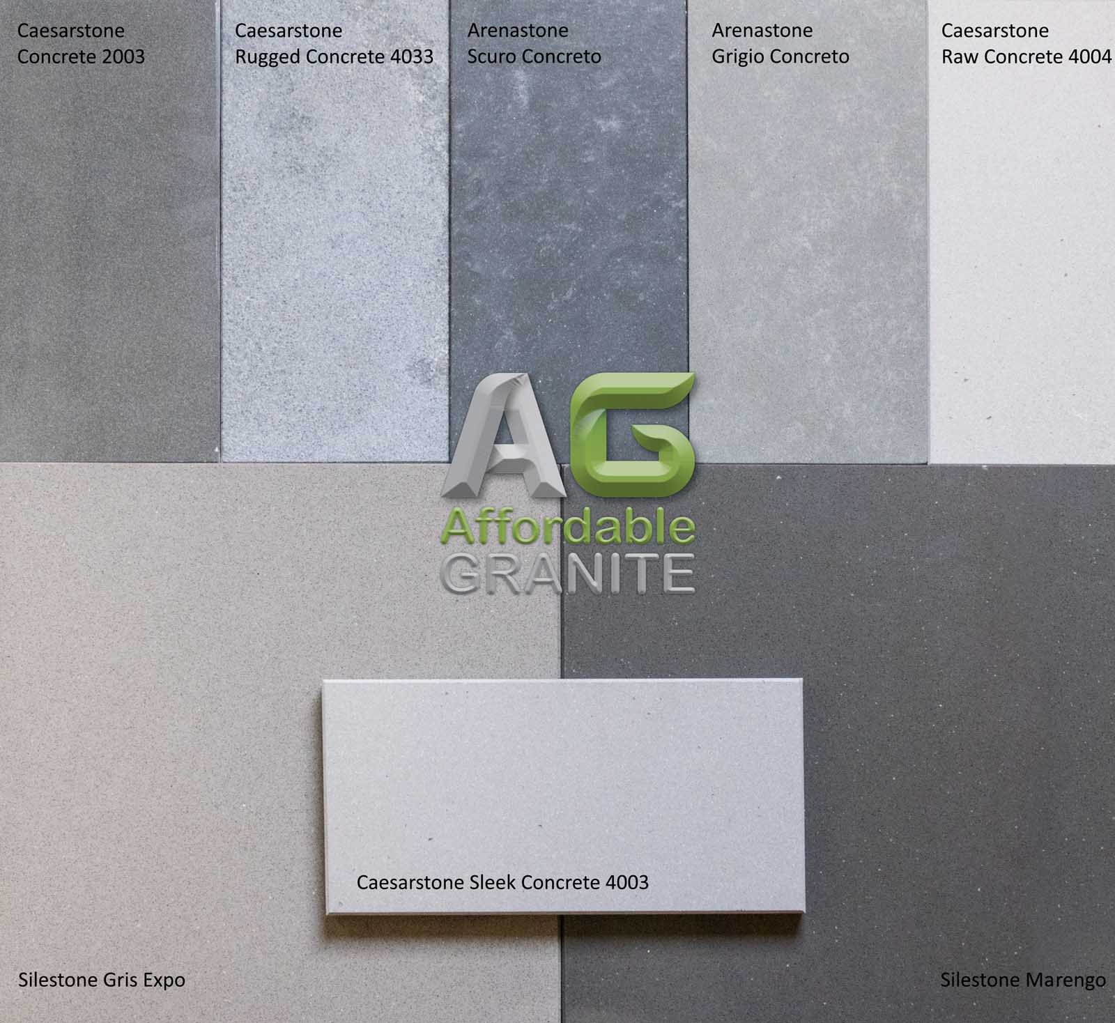 Caesarstone concrete rugged concrete raw concrete sleek arenastone scuro concreto grigio concreto silestone gris expo marengo concreto August 2017a