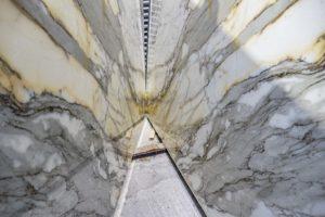 Calacatta Macchia Vecchia marble worktops