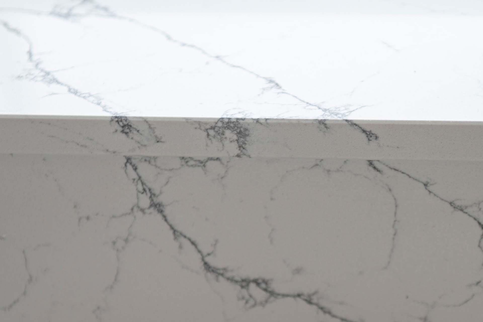 vein-matching Classic Quartz Alaska Bianca quartz worktops Haywards Heath west sussex 190930 143602c