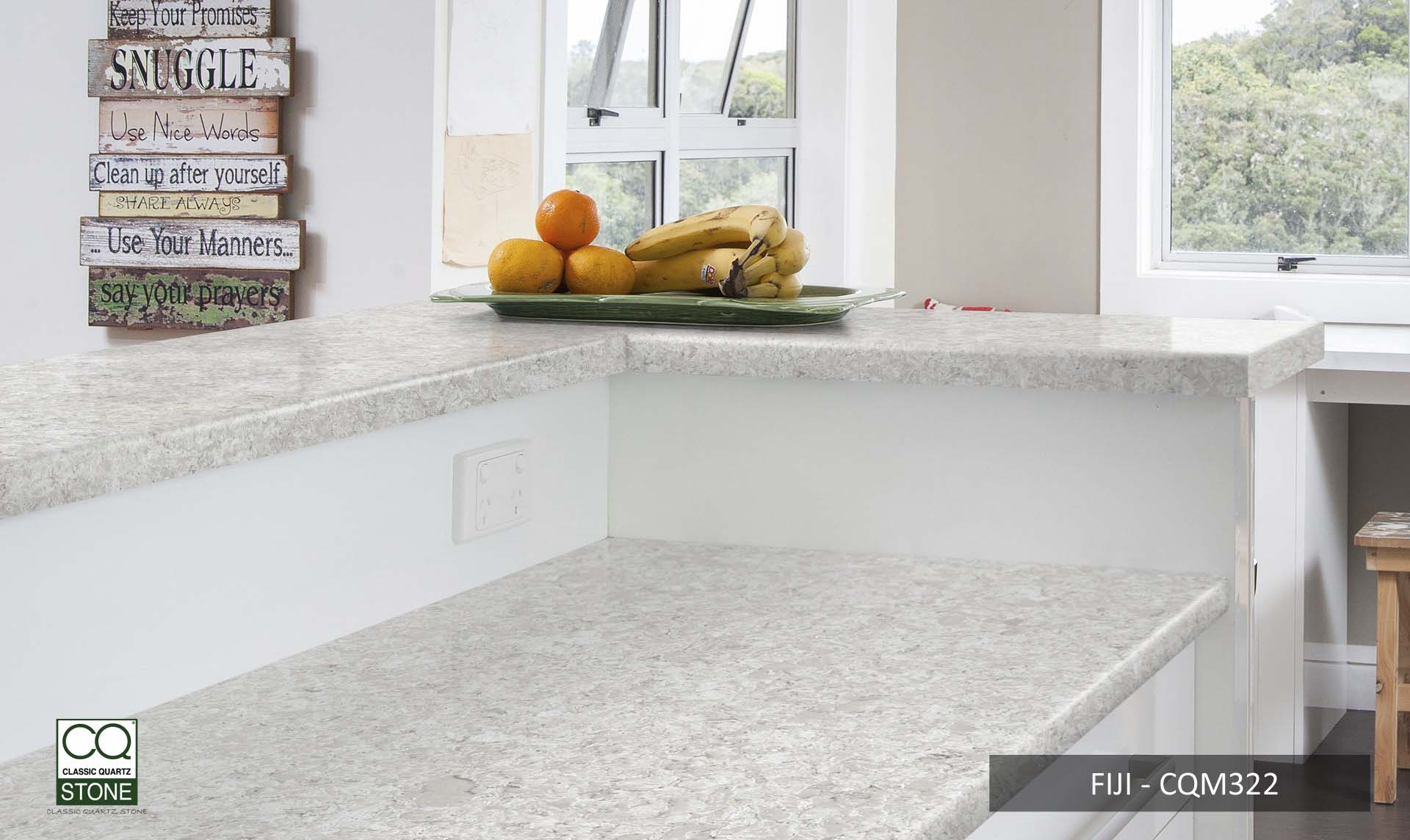 Classic Quartz worktops special offer CQM322-FIJI-KITCHEN-SURFACE