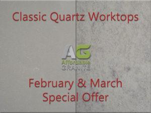 Classic quartz crete gravel quartz worktops special offer