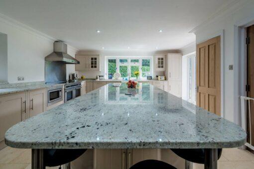 colonial white granite worktops tadworth surrey quartz kitchen