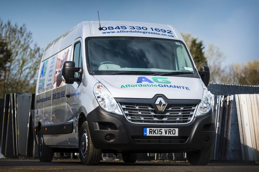 Affordable Granite updates vans for reliable worktop deliveries