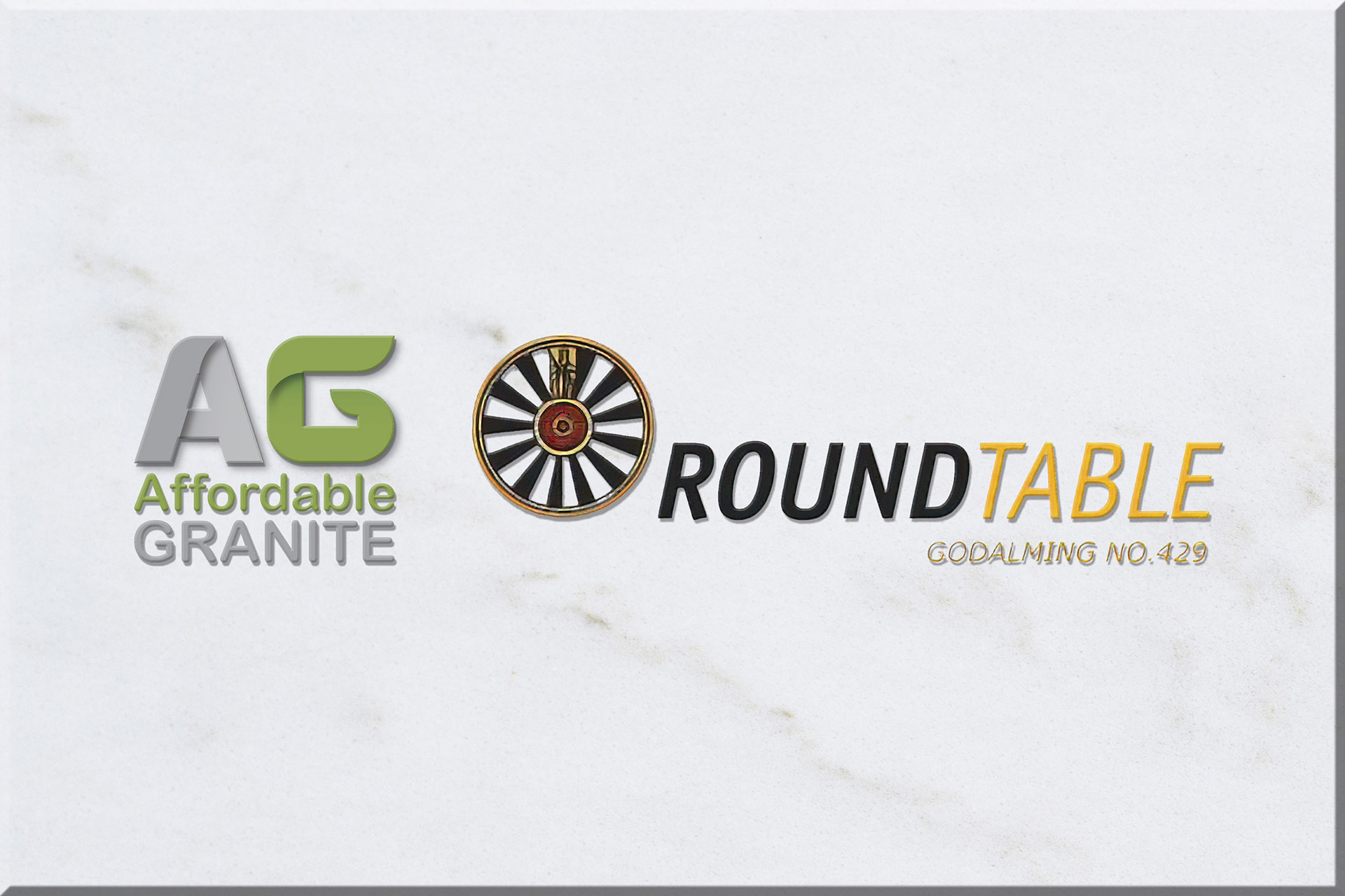 Godalming Town Show Round Table with Affordable granite worktops town show red