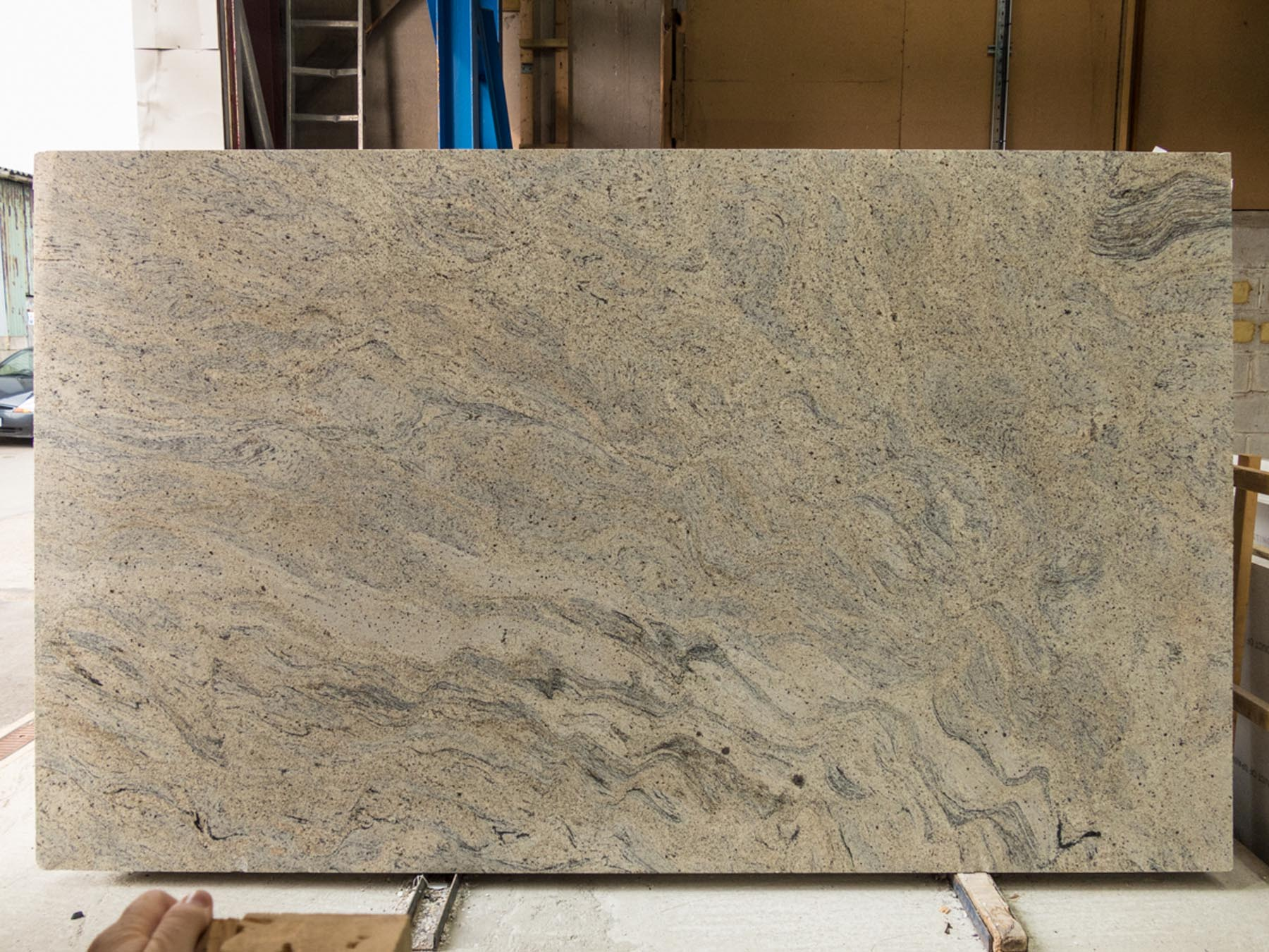 ivory fantasy granite worktops slab 3