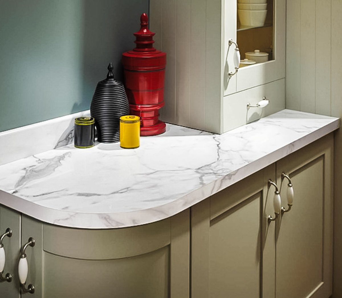 Kitchen Worktops Quartz V Granite: Laminate Worktops V Granite Worktops