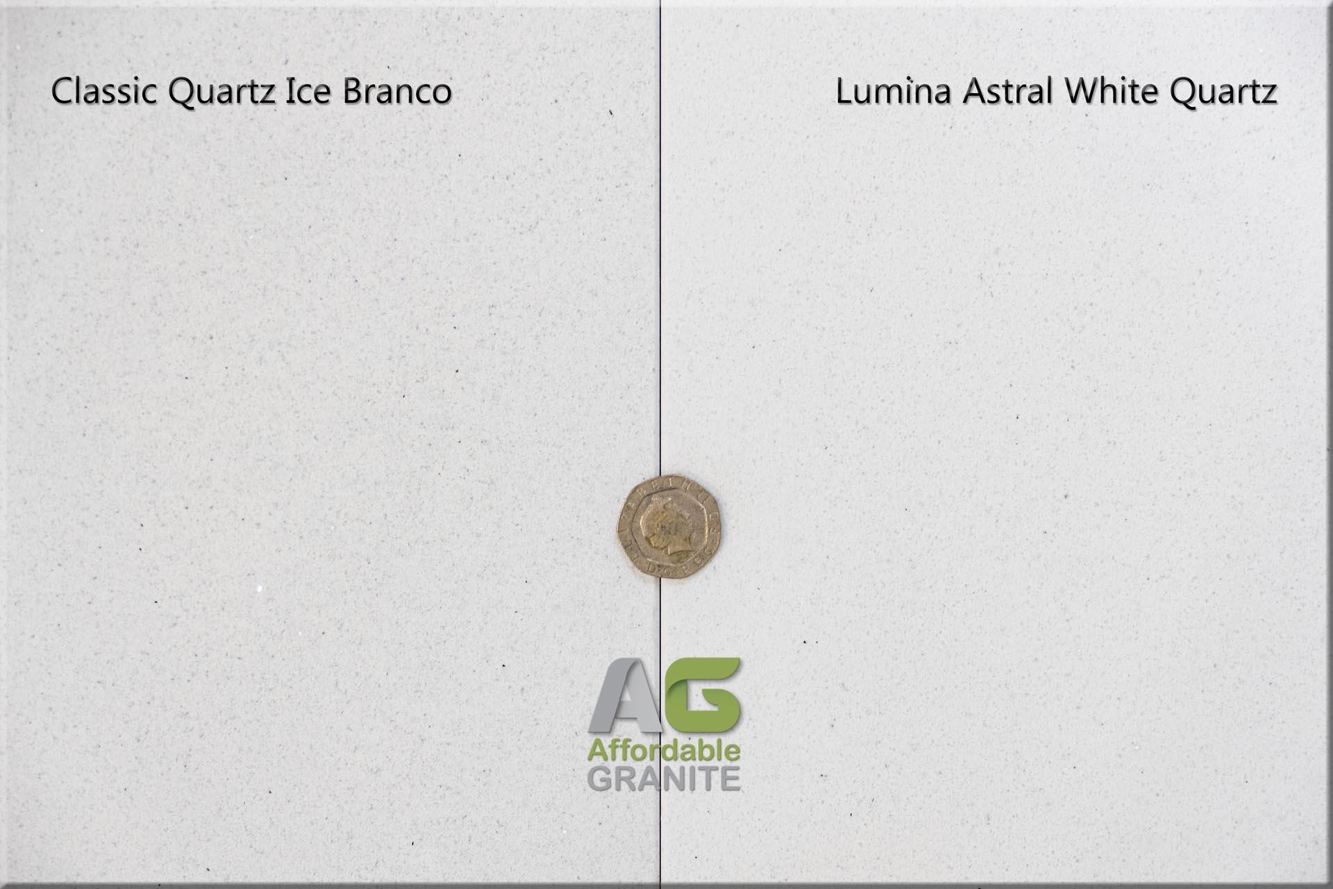 Lumina Astral White Classic Quartz Ice Branco 161727 a red