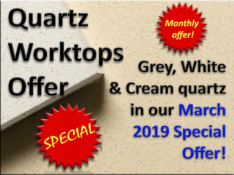 March offer granular quartz worktops popup small