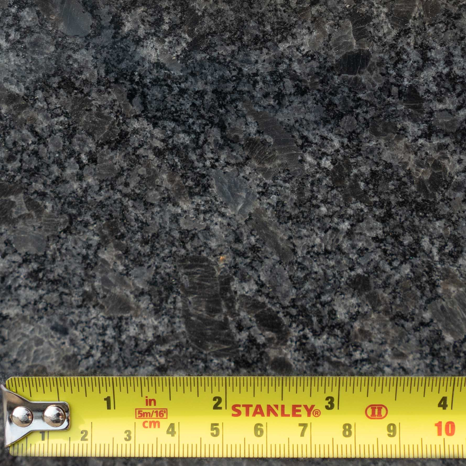 granite samples steel grey 100mm