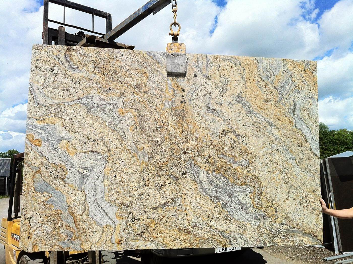 paisley gold granite worktops surrey