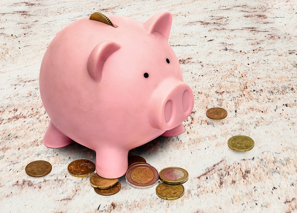 Piggy-bank-on-granite-red