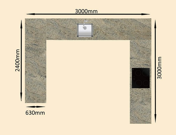 pricing example granite worktop prices ivory fantasy