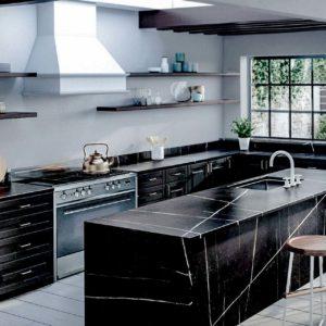 Silestone Eternal Noir Kitchen