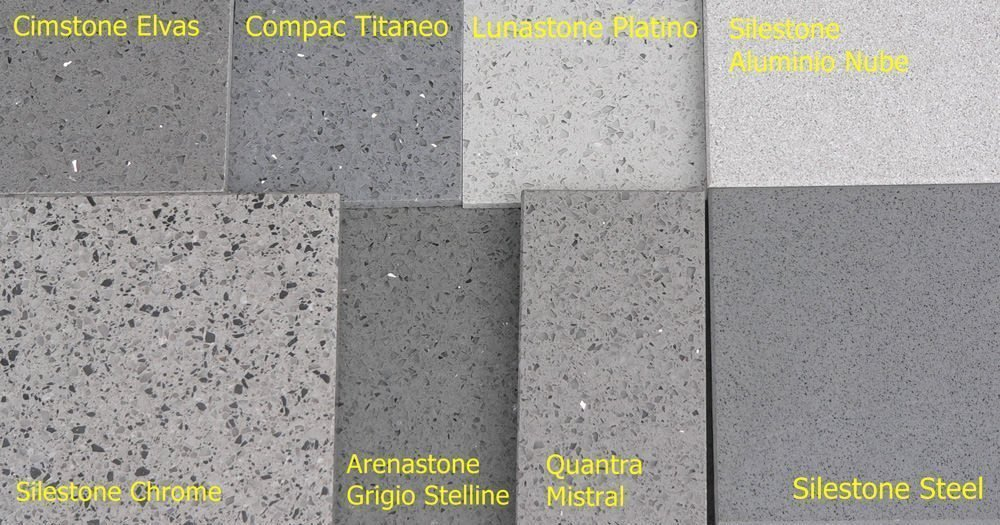 Grey Coloured Kitchen Worktops Grey Granites Quartz