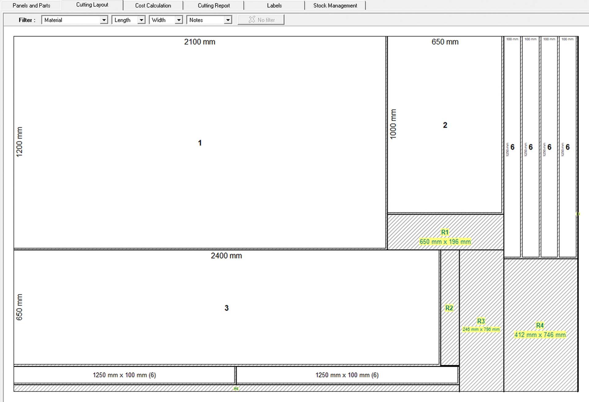 bespoke kitchen worktops cutting plan smart 2d