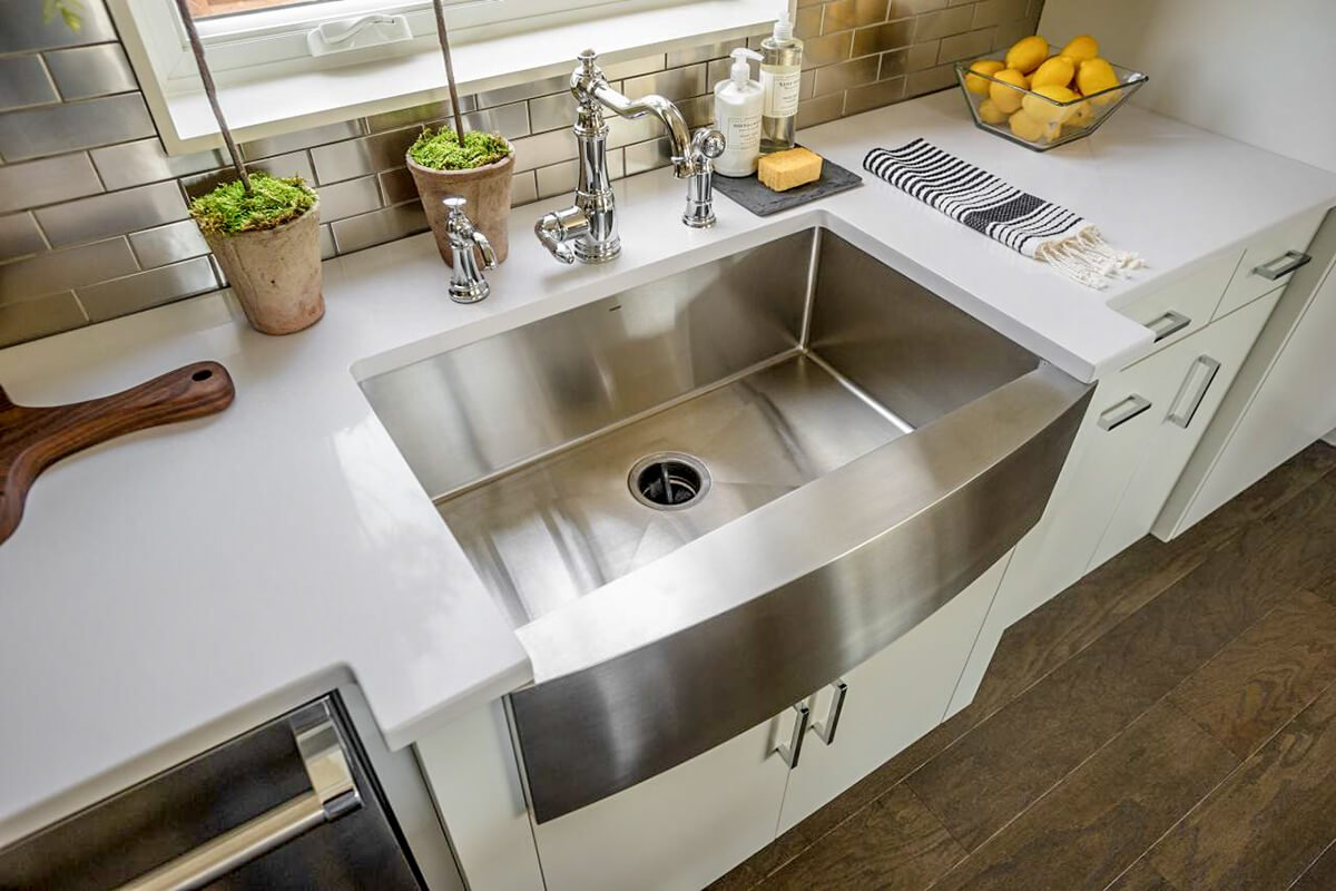 14 Belfast Sink Stainless Steel Is Mix Of Brilliant