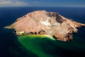 white island new zealand whakaari granite islands