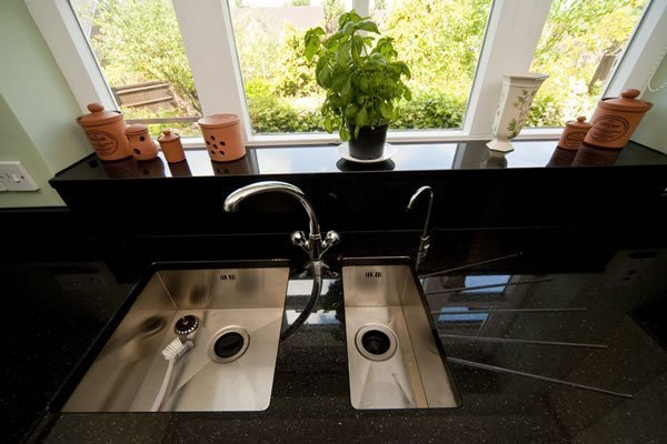 Black Galaxy Worktops Installation in Croydon