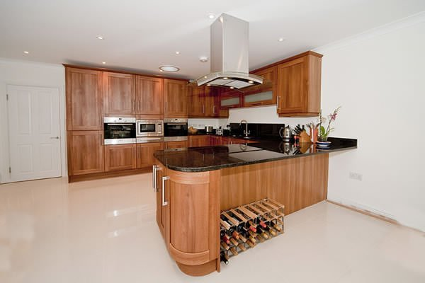 Black Pearl Granite kitchen Worktops installation in Westhumble