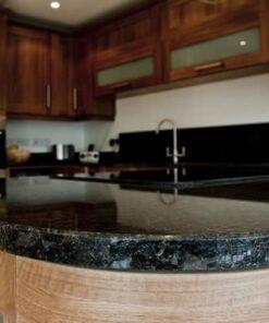 Black Pearl Granite Worktops installation in Westhumble