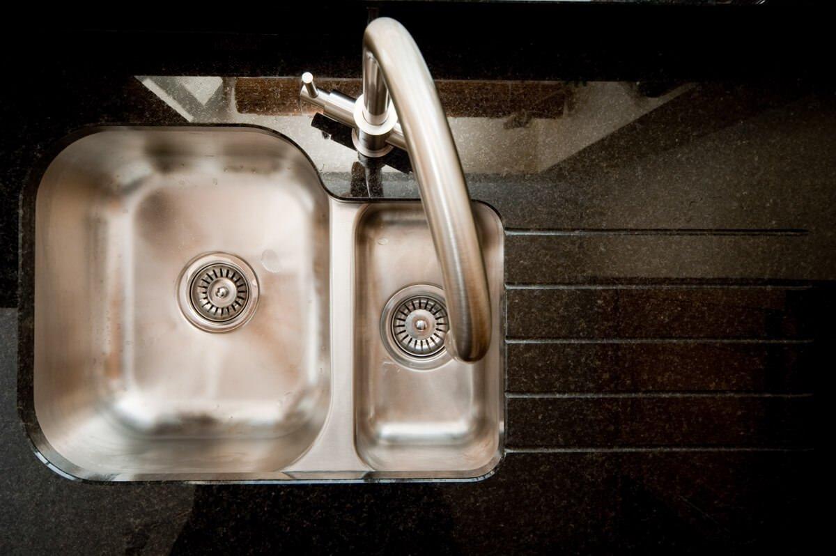 black pearl granite worktops stock sinks etroduo curvato brushed steel