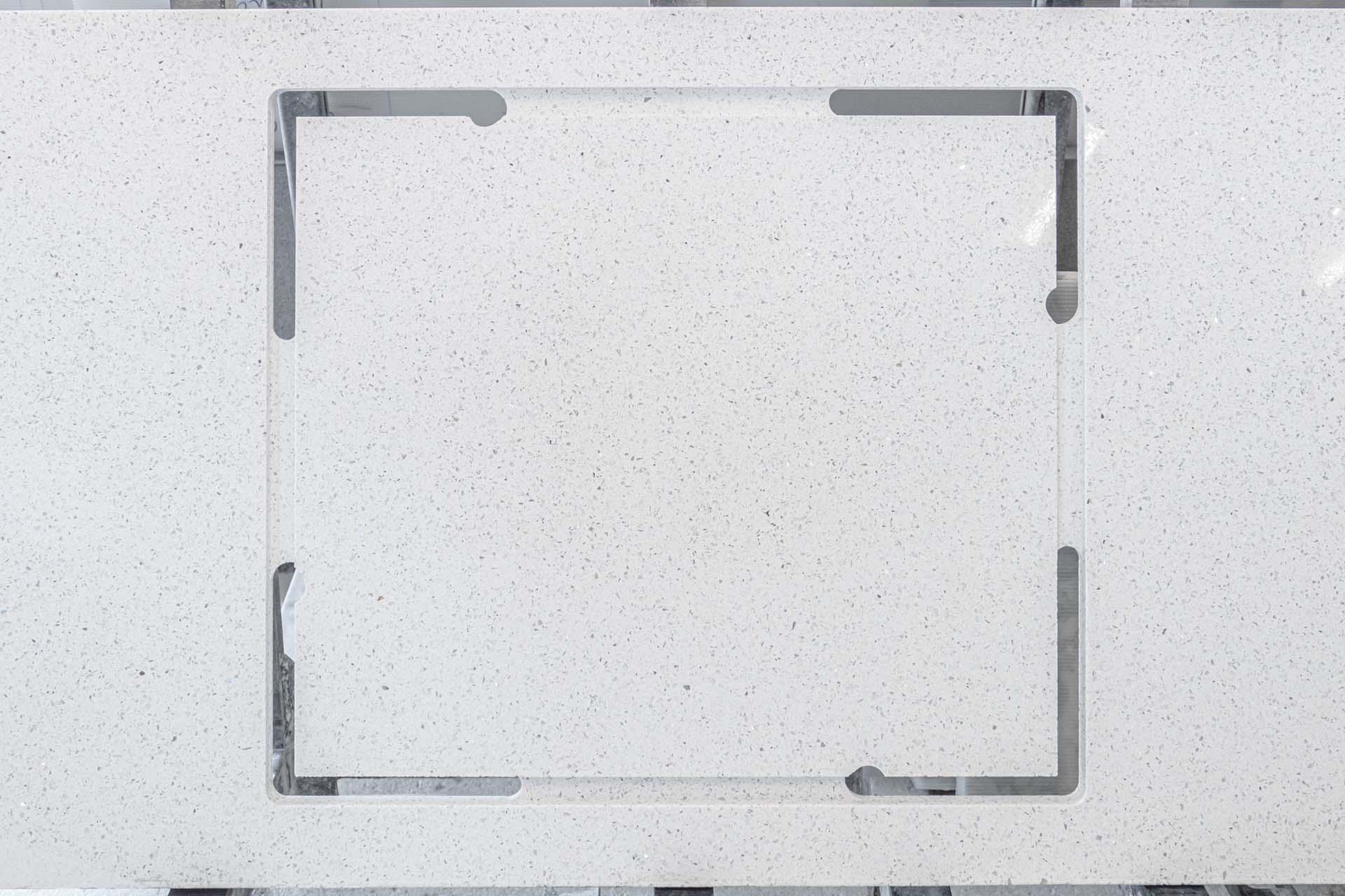 blanco stellar silestone hob cutout on rack red