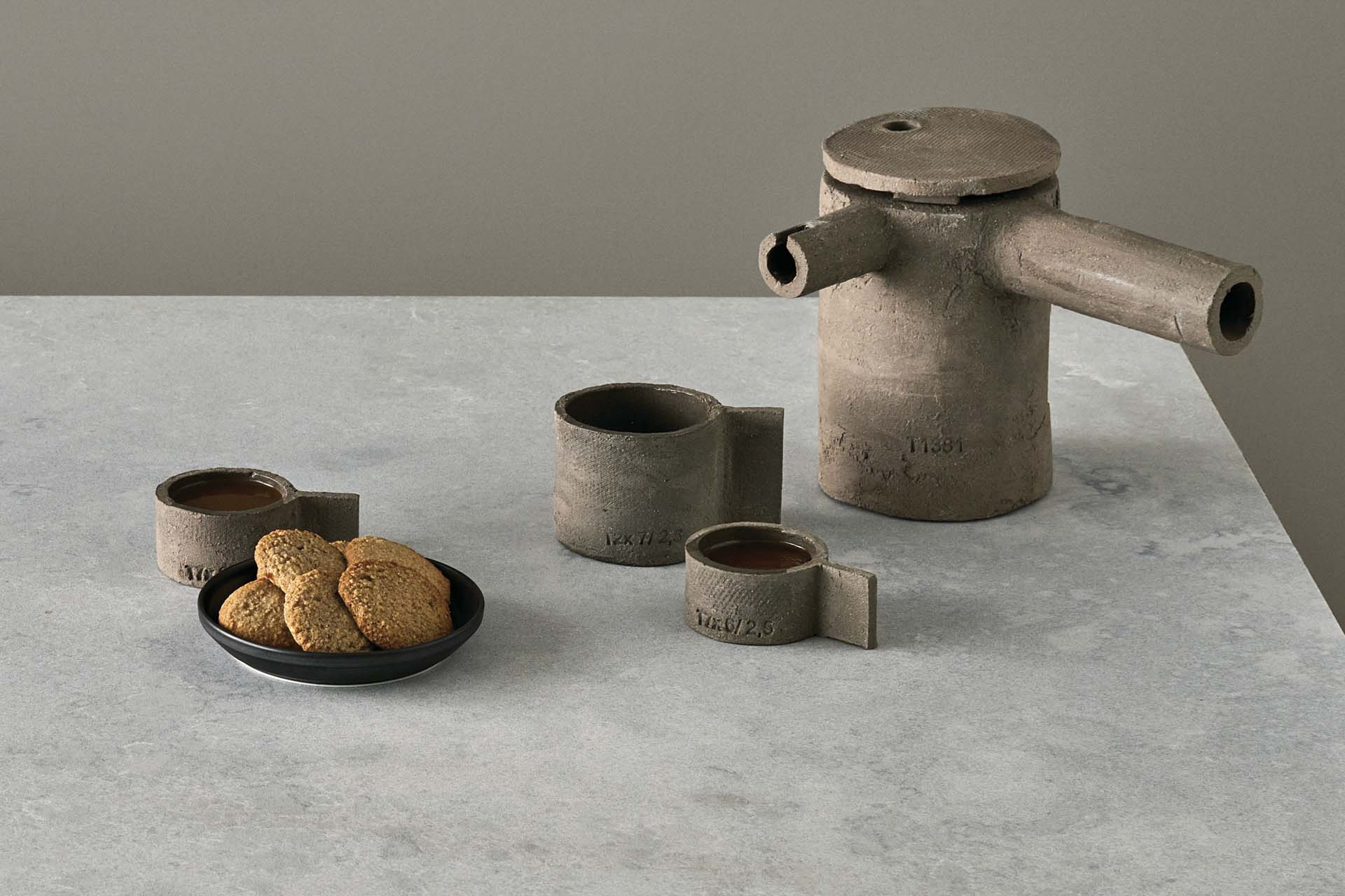 caesarstone quartz worktops offer 4044 Airy Concrete beats anything from Cosentino