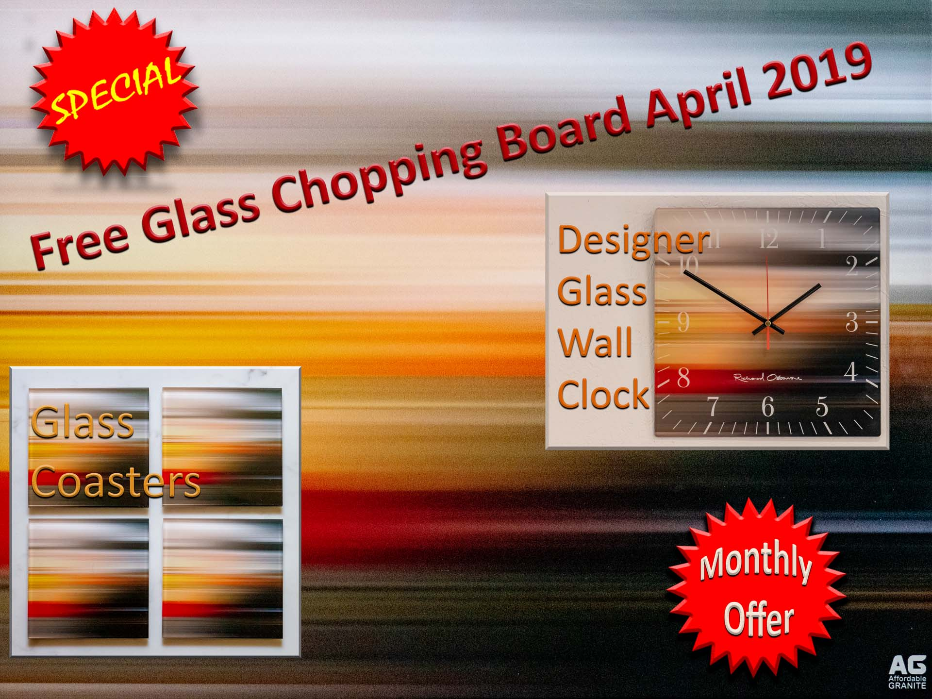 glass chopping board clock coasters offer southern counties quartz granite worktops surrey popup