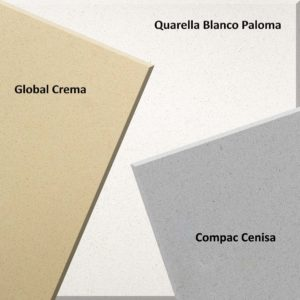global crema compac cenisa quarella blanco paloma quartz worktops special offer