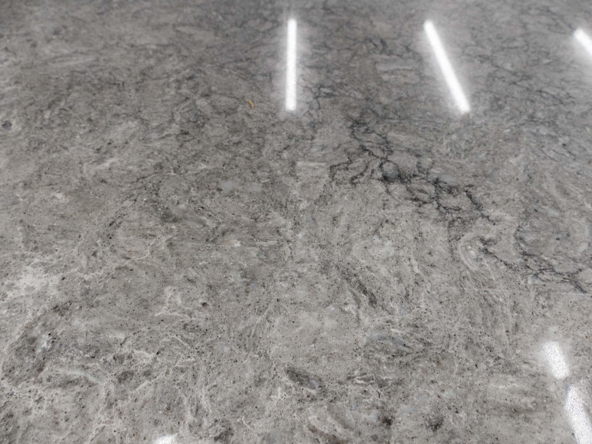 grey quartz worktops caesarstone turbine grey 6313