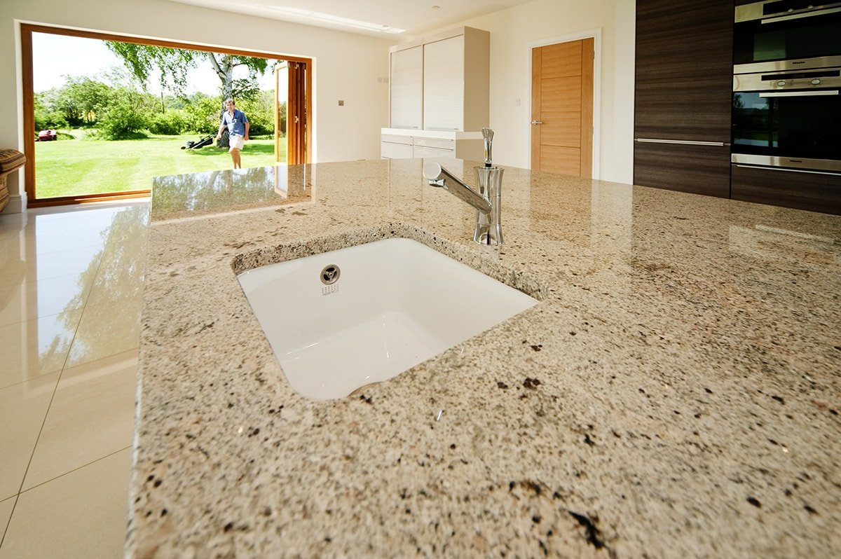 Ivory Fantasy Kitchen Worktops Artington Guildford Surrey