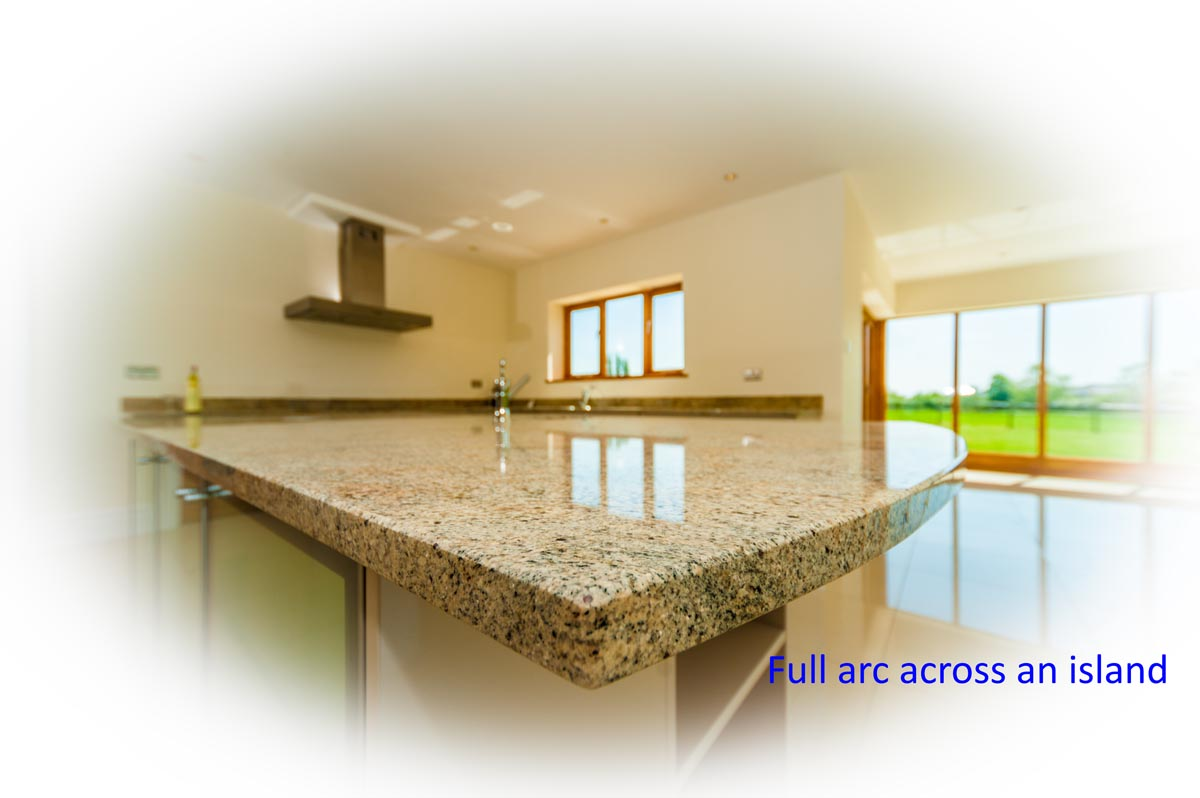 ivory fantasy granite artington surrey full arc worktop quotation