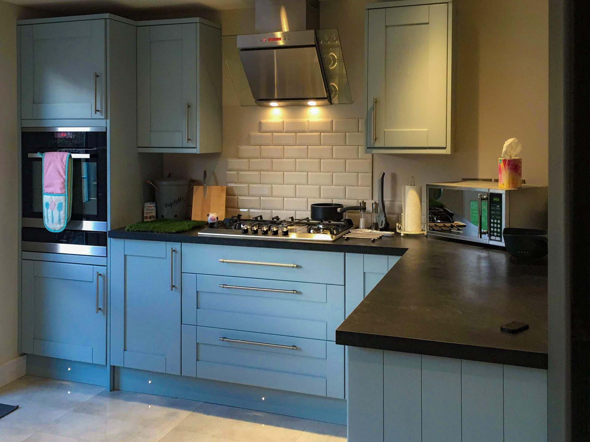 kitchen cabinet doors 50 x 72 Unique Howdens Tewkesbury Blue Kit ...