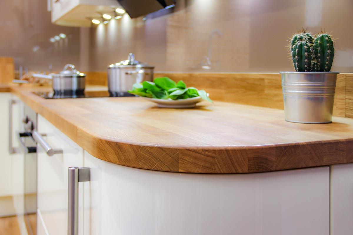kitchen worktops types woodblock