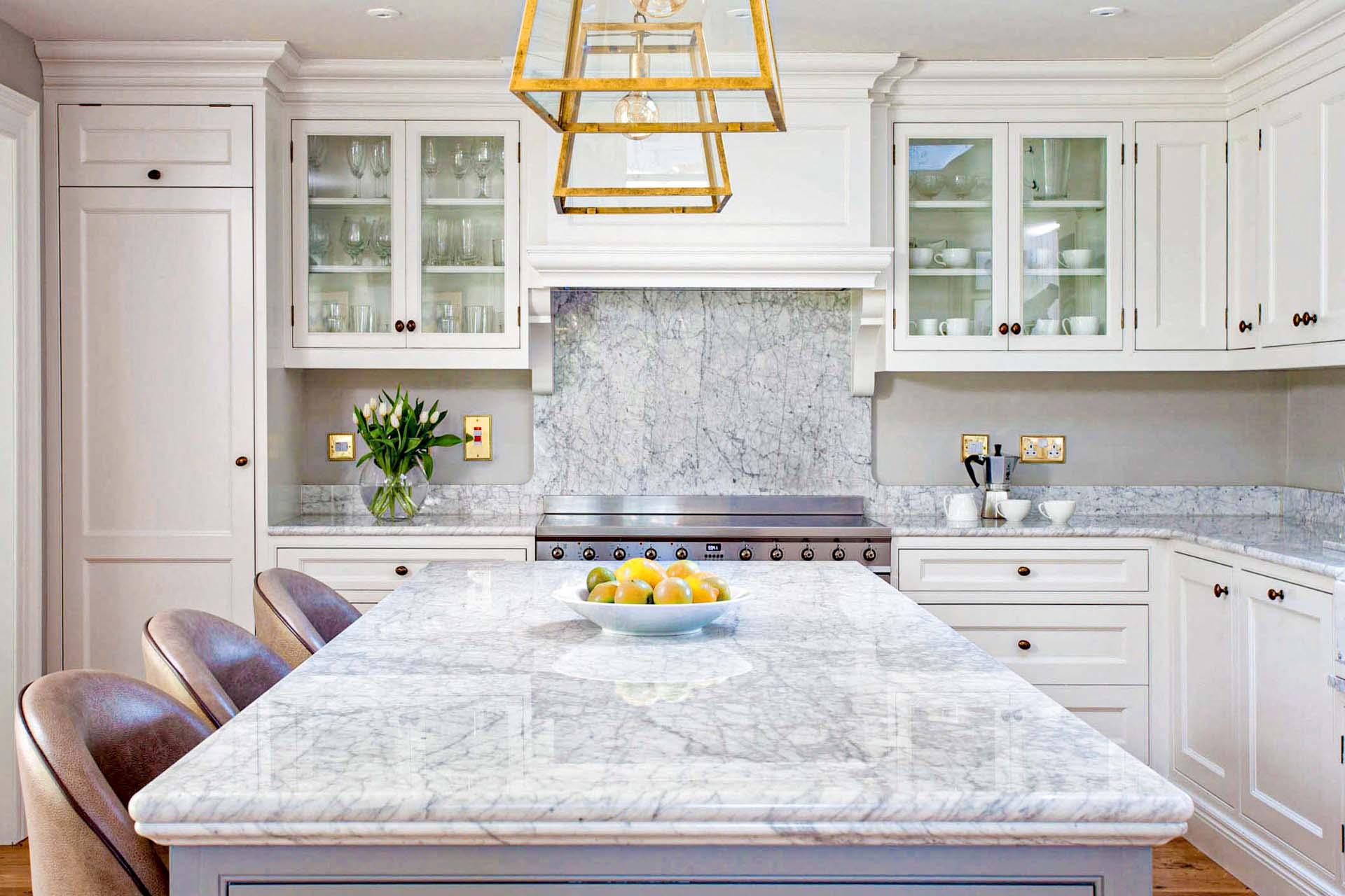 marble worktops kitchen problems staining 110818