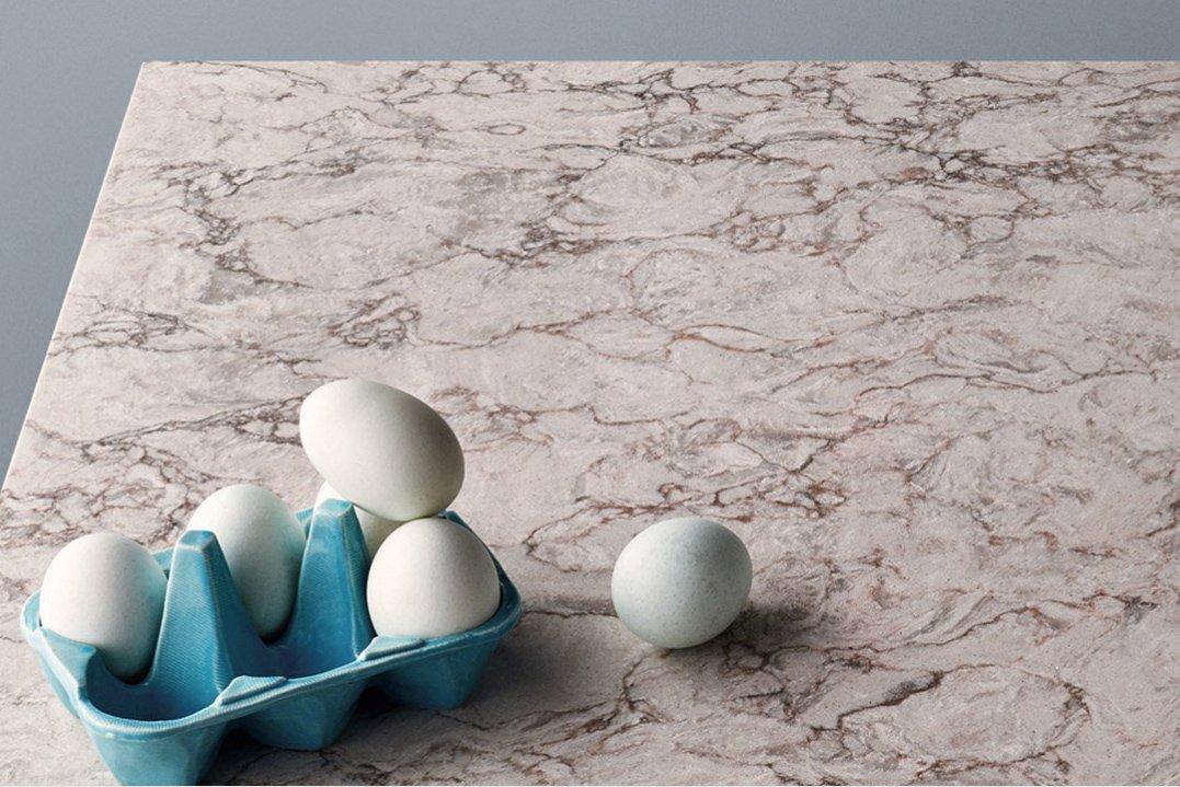 moorland fog Caesarstone quartz worktops granite surrey