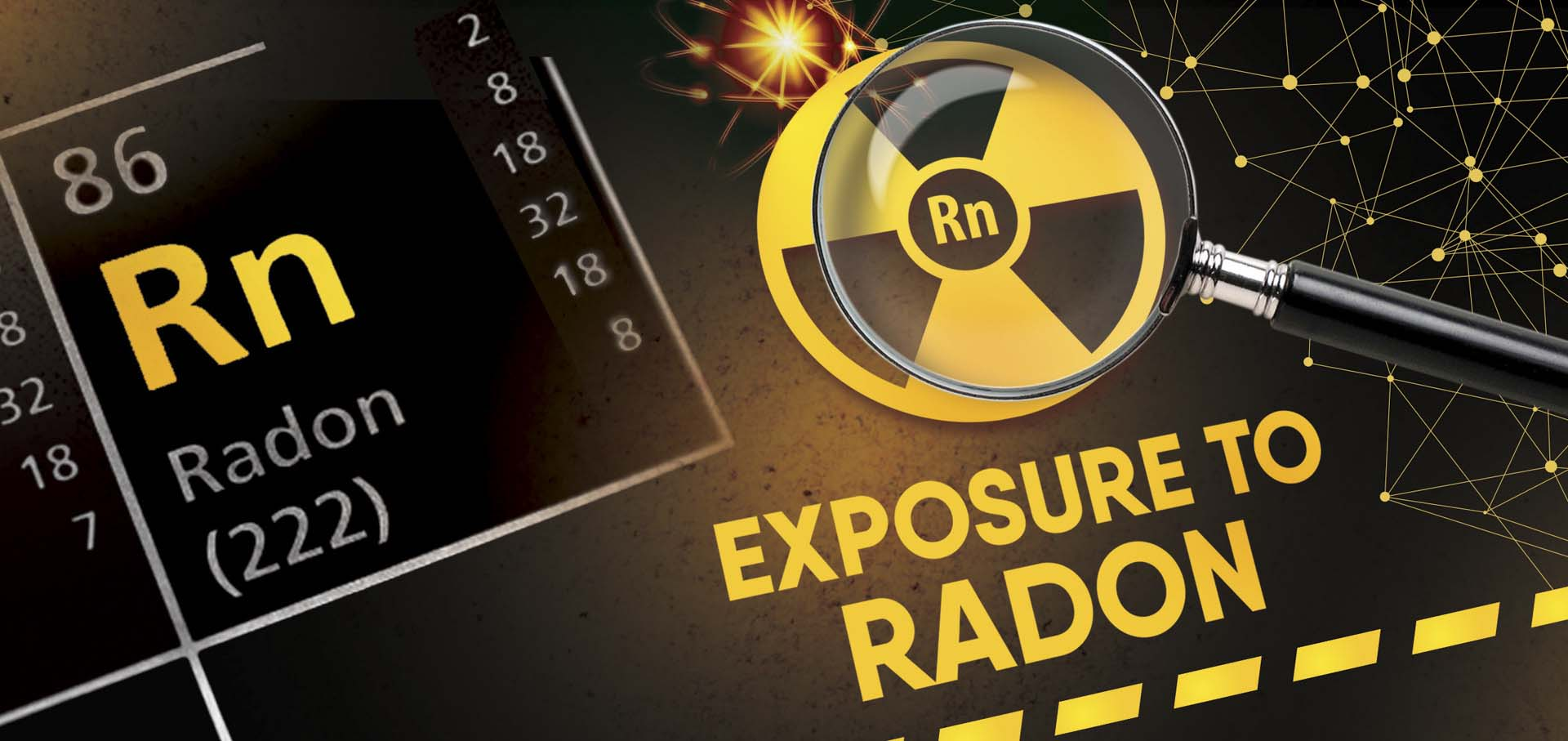 quartz and granite worktops radon gas exposure cancer risk